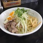 麺好き うるふ - 料理写真:冷製ゆず塩 (大盛)850円
