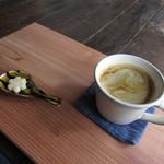 本陣カフェ チャワン - こくもつコーヒー