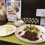 ワンシーン - 牛さがり肉のステーキランチ