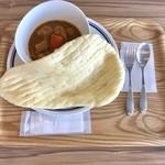 北のシェフ - 料理写真:スープカレー、800円です。