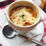 アメリカンハウス - オニオングラタンスープ