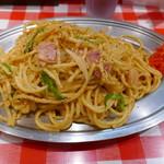 スパゲッティーのパンチョ - 白ナポ790円