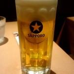 ロッソペペロンチーノ - 生ビール