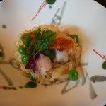 日本料理 対い鶴 - 食事:蛸めし。
