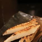 炭火焼鳥あずま - 山芋焼き
