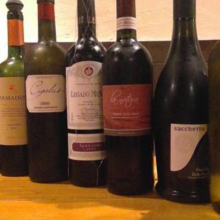 馬肉との相性抜群の世界の赤ワインとワインチックな日本酒♪