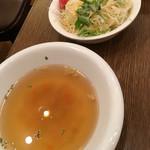 69801320 - スープとサラダ