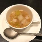 69801841 - 白菜のコンソメスープ