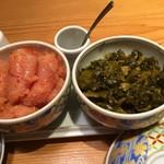 69802070 - 170603土 東京 やまや有楽町店 明太子&高菜