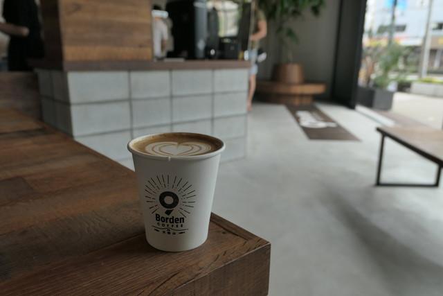 Borden Coffee Tenpozan OsakaNankoCafe Tabelog - Osaka coffee table