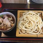 藤店うどん - 「肉汁うどん 並」680円