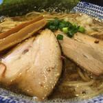 麺 昌まさ - 濃厚煮干中華そば  ズーム