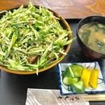 歩 - あずま丼【料理】