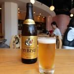 菜な - ヱビスビール中瓶