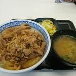 吉野家 - 料理写真:牛丼(並)+Bセット