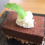 OPEN DOOR COFFEE - チョコレートケーキ