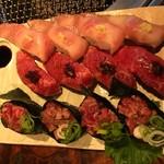 69806864 - 肉寿司❢