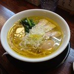 麺の風 祥気 - しおそば(味玉クーポン)