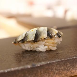 あま木 - 料理写真:新子5枚巻き