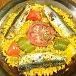 スペイン海鮮料理 ラ マーサ - イワシとトマト