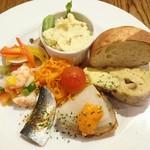 スペイン海鮮料理 ラ マーサ - タパス