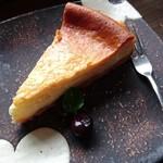 ゆば - 料理写真:○チーズケーキセット 750円