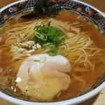 鮮魚麺 海里 - 鮮魚醤油ラーメン