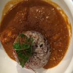 ナチュラルキッチン キュレル - トマトとココナッツのシーフードカレー