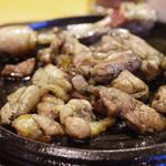 夢かぐら - 料理写真:妻地鶏炭火焼き