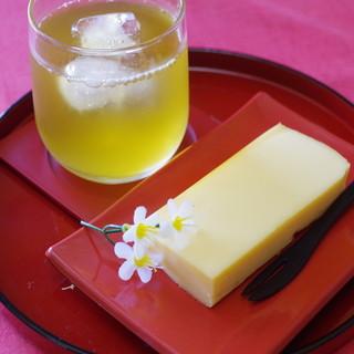 おびの茶屋 - 料理写真:厚焼き玉子