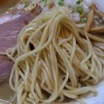 麺屋 むどう - 煮干し麺(麺