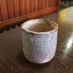 茶亭 萬屋 - 最後の温かいお茶がうれしい