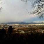 走井餅老舗 - 山上の展望台からの眺め 2017年1月撮影
