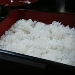 飛弾寿司 - ごはん接写