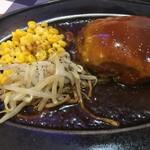 ステーキ&タコス・テキサス - チーズハンバーグ