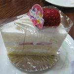 ぞうさんのケーキ屋 アン プティ エレファン - ショートケーキ