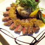 イタリアンカフェ マリナーラ - 牛ロースの薄切りステーキ