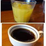 Bar Vita - *オレンジジュースと珈琲を頂きました。