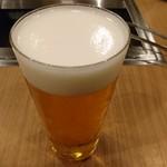 牛たん うしすけ - 飲み放題ビール