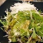 牛たん うしすけ - サラダ