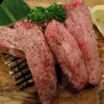 牛たん うしすけ - 別注の厚切り牛タン