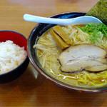 札幌 めんたつ - 味噌ラーメンと小ライス/34
