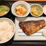 とと家 - さわらの西京焼き定食