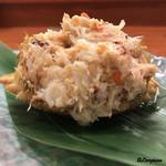 和処 大うち - 料理写真:トゲクリ蟹(メス内子入り)