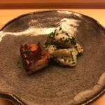 鮨 よし田 - アオリイカと長崎産タコ