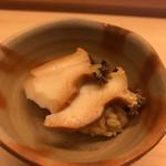 鮨 よし田 - あわび寿司