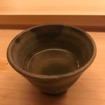 鮨 よし田 - スズキの吸い物
