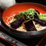 そば処 三津屋  - 揚げなすおろし蕎麦
