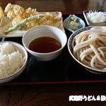 田舎うどん てつ - 穴子天ぷら定食