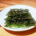 焼肉 名門 - 韓国海苔